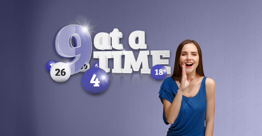 9 at a Time Header masthead